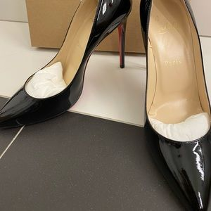 Christian Louboutin Pigalle Patent sz 9 NWT